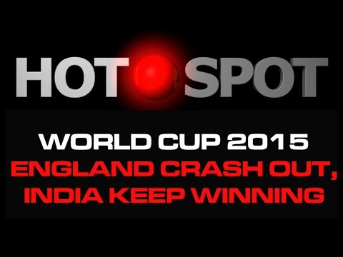 Hot Spot - England Crash Out, Sangakkara Superb, India Keep On Winning
