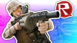 COME A SHOOT A GUN! Roblox: Forze Fantasma