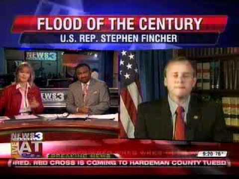Congressman Fincher on WREG-TV in Memphis
