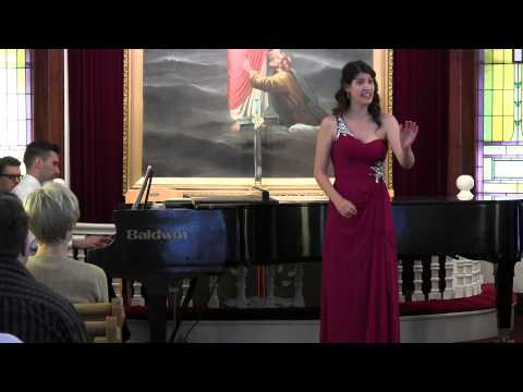 Chelsea Chimilar,lyric mezzo-soprano