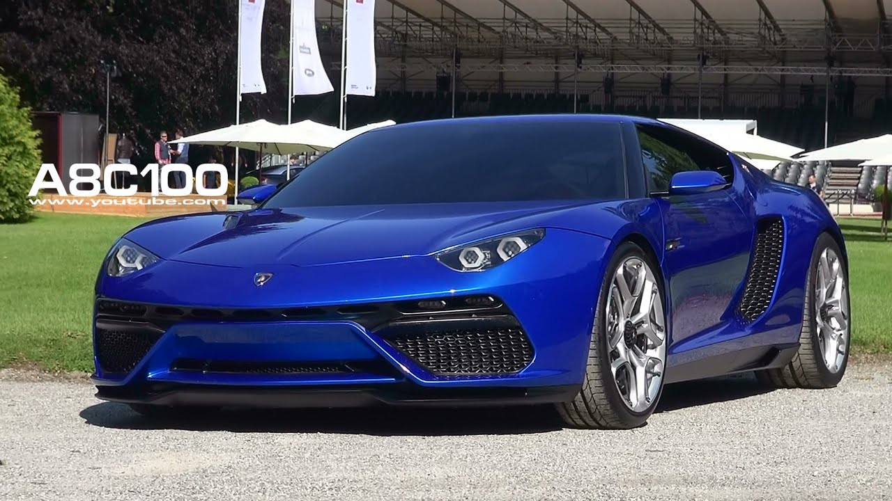 Lamborghini Asterion Running Full Electric Youtube