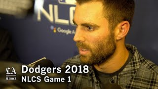 Dodgers NLCS 2018: Chris Taylor on the Game 1 loss in the NLCS thumbnail