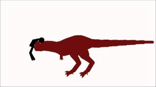 Pivot animation: Dinosaur VS humans!!
