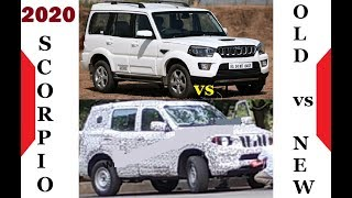 Gambar cover 2020 mahindra Scorpio first look | Spied on test | Old vs New Scorpio