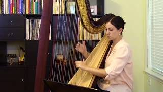 Processional by Linda Wood, Inspirational Videos for Young Harpists #41