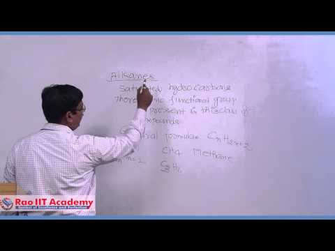 Organic Chemistry Nomenclature 1 - IIT JEE Main and Advanced Chemistry Video Lecture