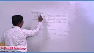 organic chemistry basic overview