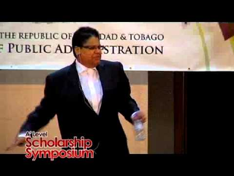 A Level Scholarship Symposium-  Honourable Justice Gillian Lucky