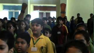 Come India Sing - 237 students of K R Mangalam International School practise singing JANA GANA MANA