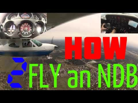IFR - Solo - NDB 35 Approach - How to fly an NDB