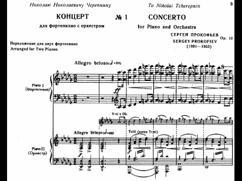 Prokofiev Piano Concerto No. 1 in D-flat Major, Op. 10 (Kissin)