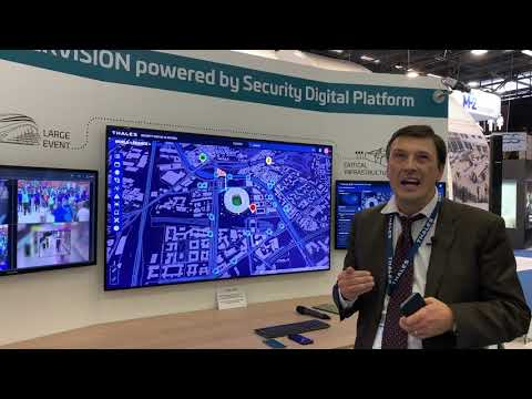Supervision powered by Security Digital Platform - Thales
