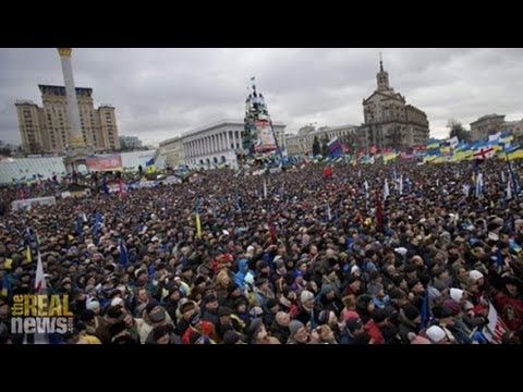 Ukrainians Protest Oligarchic Rule that has Stripped the Country of its Wealth