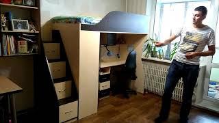 Обзор чердак-кровать компании Мерабель.