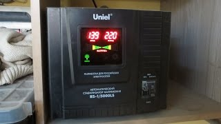 видео Симисторный трехфазный стабилизатор напряжения |