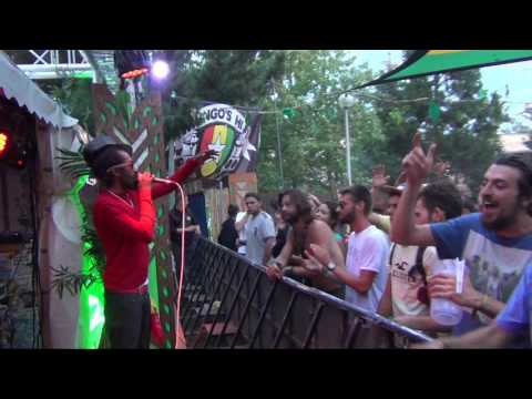 Live LEGAL SHOT feat MR WILLIAMZ, LASAI and GREEN CROSS - Dub Foundation - Reggae Sun Ska 2017