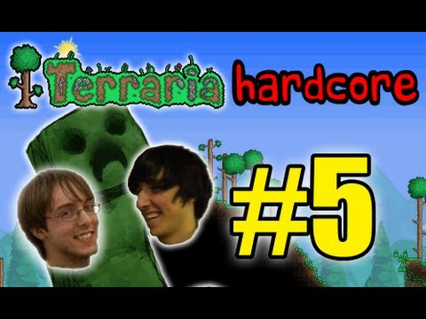 Terraria HC! - Part 5 (MINING FLASHBACKS!)