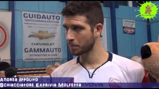 24-02-2013: Intervista ad Andrea Ippolito nel post Molfetta-Corigliano 3-0