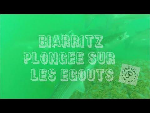 Plongee sur les egouts Marbella Biarritz