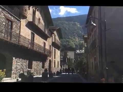 Health Tourism program in Principat d'Andorra Village of Ordina オルディナ村 2016年10月09日