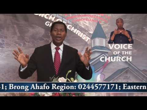 Message to Ghana's new President and Government, Minister Abraham Monney, Church of Christ,Ghana 08