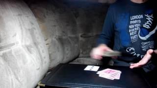 Обучение легкому фокусу с картами #1.