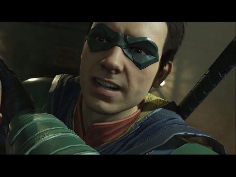 Injustice 2 - Batman vs Robin (Story Battle 4) [HD]