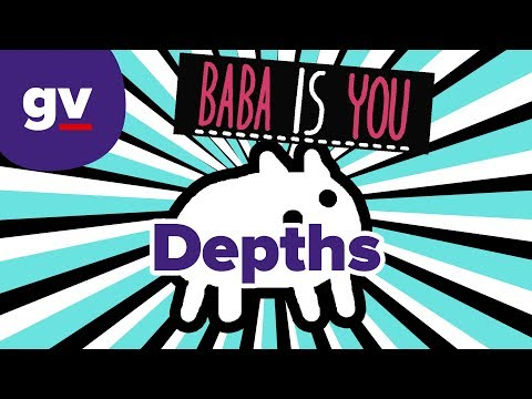 Baba Is You - Level Depths Extra 5 - Endless Corridor (Solution, After Patch)