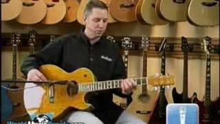 Washburn Acoustic/Electric Guitar EA17 Demo