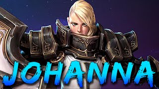 ★ Heroes of the Storm: Johanna Gameplay! Best Tank in HoTS?!