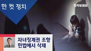 [복국장의 한 컷 정치] 민법 '자녀징계권' 62년 만에 삭제 / JTBC 정치부회의