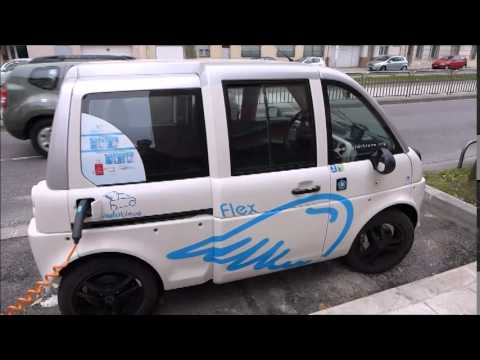 The MIA electric German French E mini car