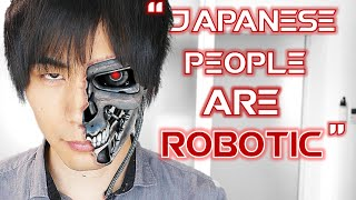 Why we JAPANESE can seem ROBOTIC 英語でブログの悩みとか