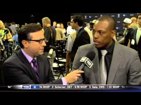 Paul Pierce on joining the Brooklyn Nets