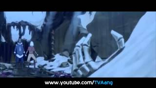 Aang in Avatar State   In Air Temple Full Scene HD