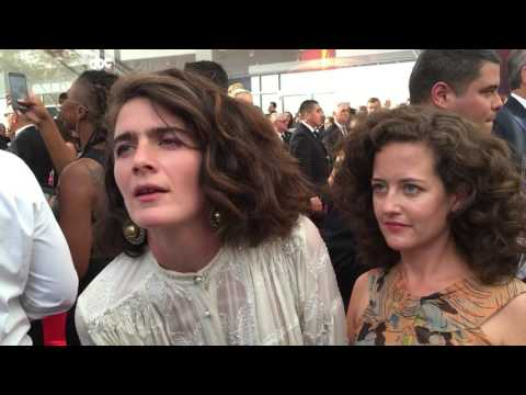Gaby Hoffmann ('Transparent') on 2016 Emmys red carpet