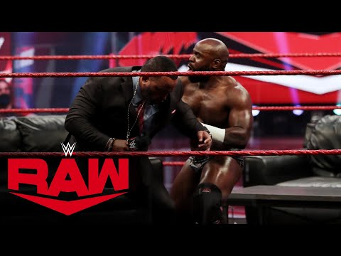 "Apollo Crews crashes MVP's ""VIP Lounge"": Raw, Aug. 10, 2020"