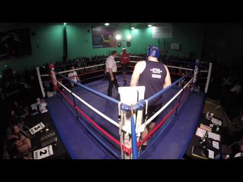 Ultra White Collar Boxing Chichester | Ed Rogers VS Chris Smith