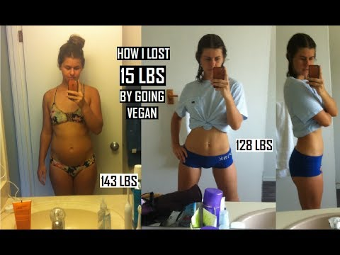 HOW I LOST 15 POUNDS on a VEGAN DIET