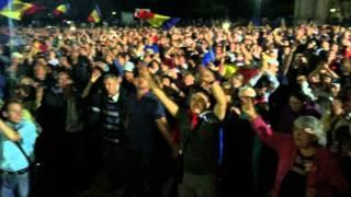 Невероятная атмосфера на Молдавском Майдане 07.09.15