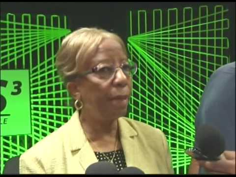 Newly appointed Central Bank Governor speaks to the media on the country's financial status