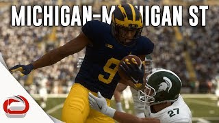 🏈 Michigan State Spartans vs Michigan Wolverines Rivalry - NCAA Football 20 - Madden 19 Mod