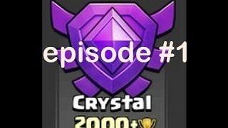 Clash of Clans greek - Trophy Push - 2000 Trophies - Episode 1