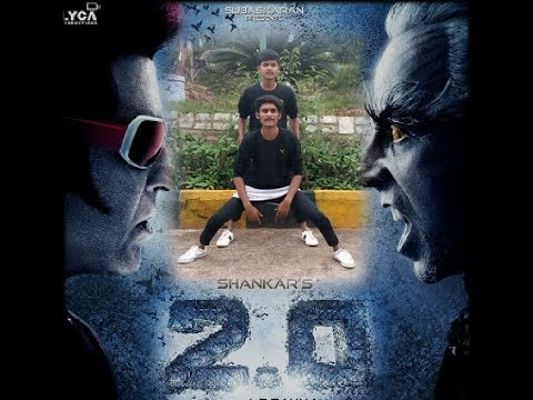 Yanthara lokapu sundarive and robot from Robo 2.0 mix song dance cover by Narasimha and Ajay