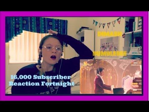 16,000 Subscriber Reaction Fortnight D5: Dimash: Bumblebee