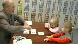 Обучение детей чтению. Методика С. Полякова. Учим буквы. Фрагмент урока №3