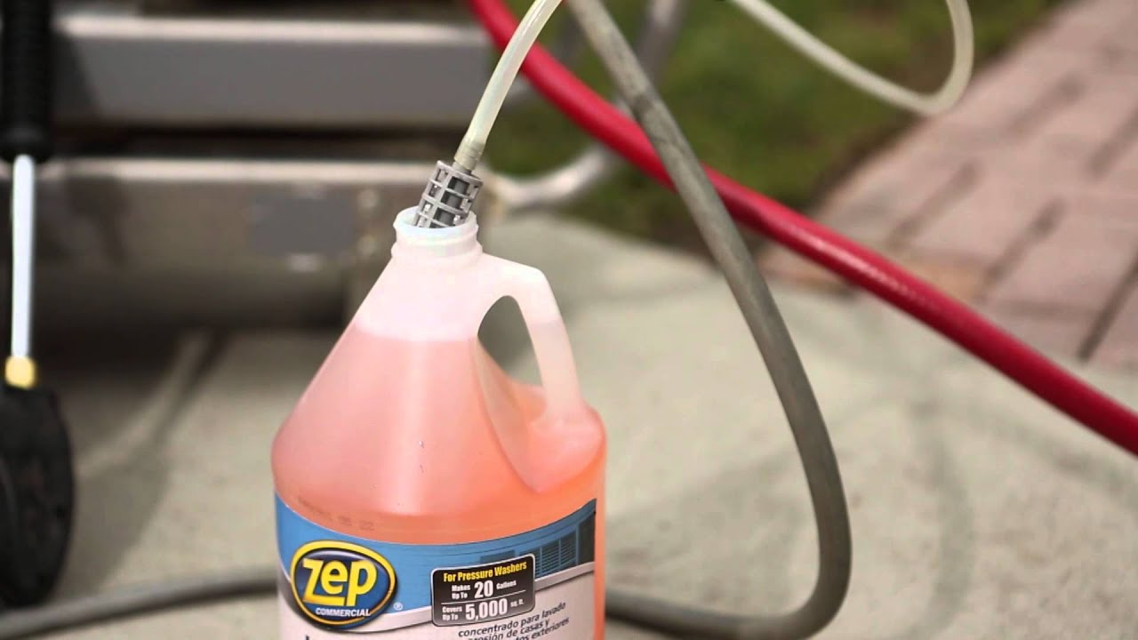 How To Pressure Wash Your House Zep Commercial House