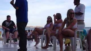 Mango Deck Wet T-shirt contest - Cabo San Lucas, Mexico - April 22, 2013