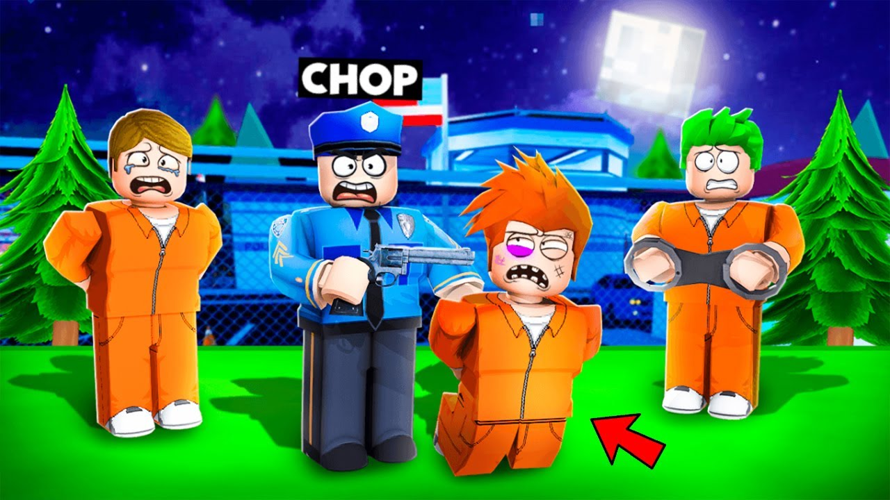 CHOP BUILT HIS HUGE PRISON AND LOCKED ME INSIDE IT ROBLOX