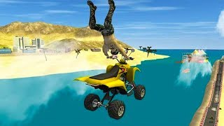 ATV Quad 4 Wheeler Extreme Stunts - Best Android Games - Android GamePlay HD